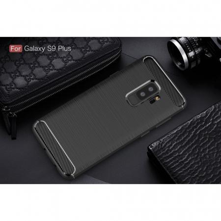 Husa silicon carbmat Samsung S92