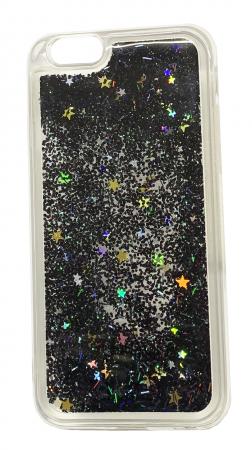 Husa silicon lichid-sclipici Iphone 5/5s - 5 culori2