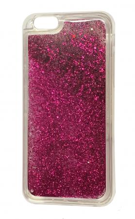 Husa silicon lichid-sclipici Iphone 5/5s - 5 culori1