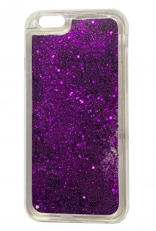 Husa silicon lichid-sclipici Iphone 5/5s - 5 culori4