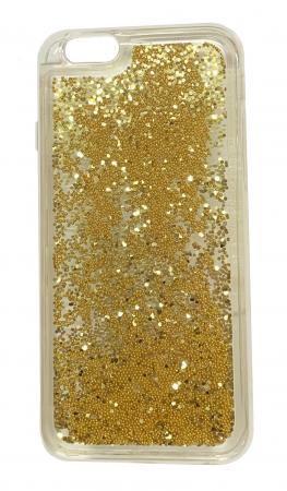 Husa silicon lichid-sclipici Iphone 5/5s - 5 culori0