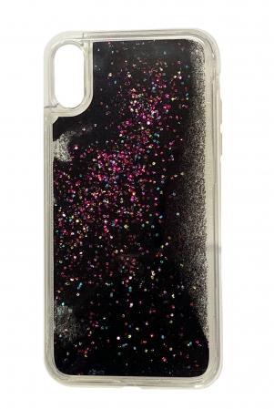 Husa silicon lichid-sclipici Iphone Xr - 5 culori1