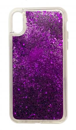 Husa silicon lichid-sclipici Iphone Xs Max -  5 culori3