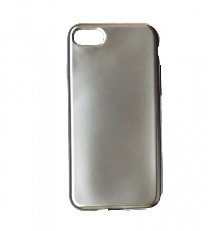 Husa silicon metalizat Iphone 6/6s - Gold1