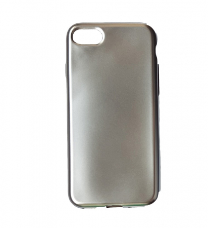 Husa silicon metalizat Iphone 7/8 - 3 culori2