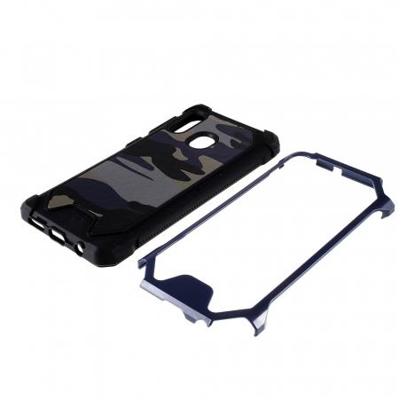 Husa army model camuflaj Samsung A20e - Albastru1