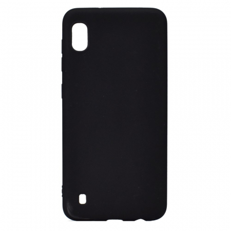 Husa silicon slim mat Samsung A10 - negru [0]