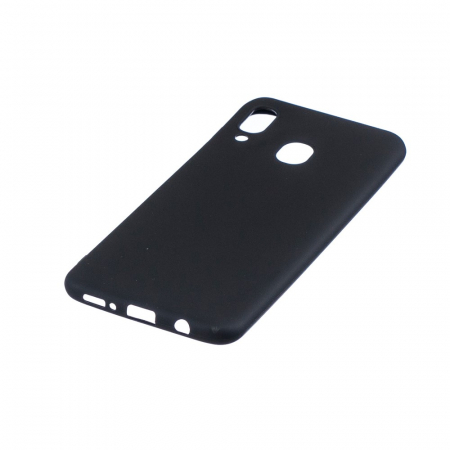 Husa silicon slim mat Samsung A40 - negru [1]
