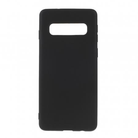 Husa silicon slim mat Samsung S10 - Negru0