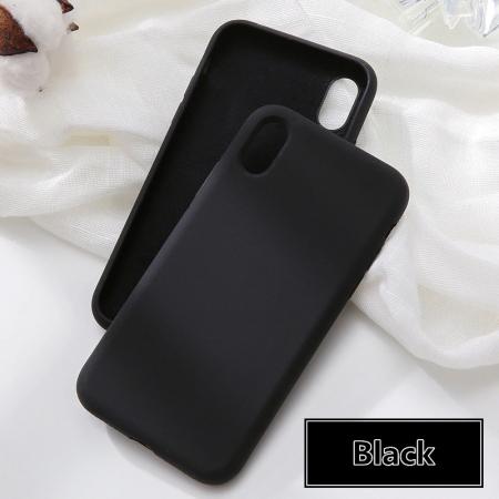 Husa silicon soft mat Iphone 7/8/SE2  - 4 culori0