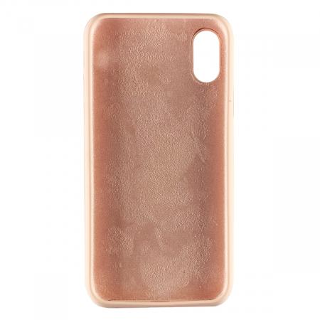 Husa silicon soft mat Iphone X/Xs - Rose1