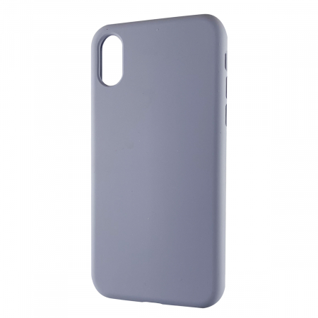 Husa silicon soft mat Iphone X/Xs - Gri Albastrui0