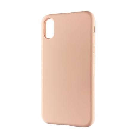 Husa silicon soft mat Iphone X/Xs - Rose0