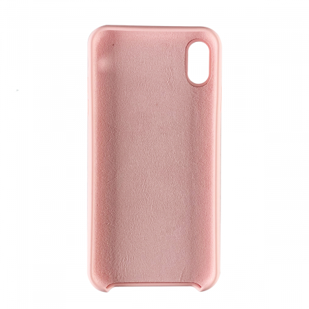 Husa silicon soft mat Iphone Xs Max - Rose1