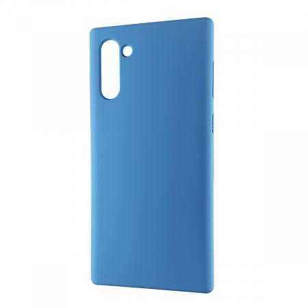 Husa silicon soft mat Samsung Note 10 - Albastru0