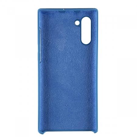 Husa silicon soft mat Samsung Note 10 - Albastru1