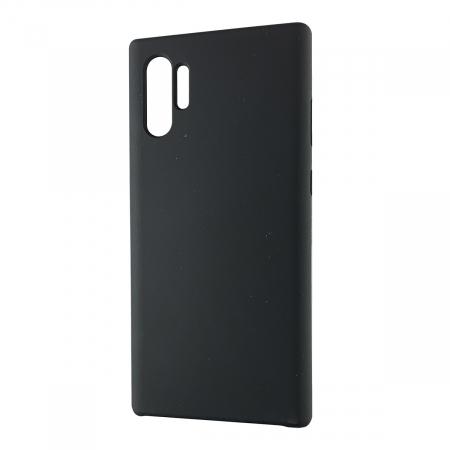 Husa silicon soft mat Samsung Note 10 Plus - Negru0