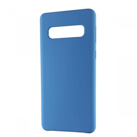 Husa silicon soft mat Samsung S10 Plus - Albastru [0]