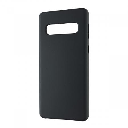 Husa silicon soft mat Samsung S10 Plus - Negru0