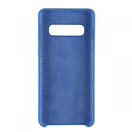 Husa silicon soft mat Samsung S10e - Albastru1