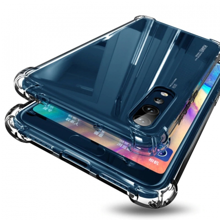 Husa silicon transparent anti shock Huawei Y6 (2019)0