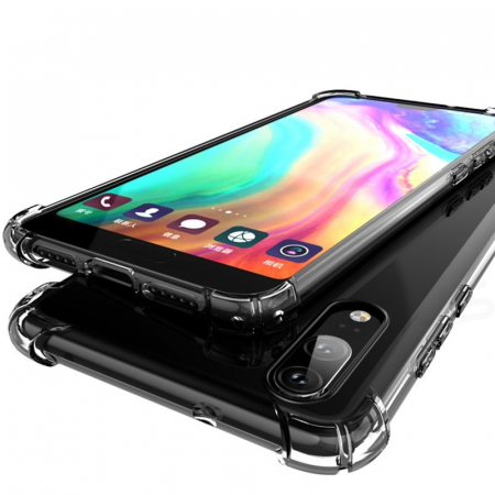 Husa silicon transparent anti shock Huawei Y6 (2019)1