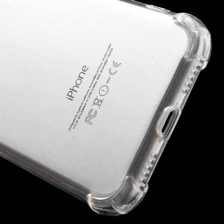 Husa silicon transparent anti shock Iphone 5/5s0