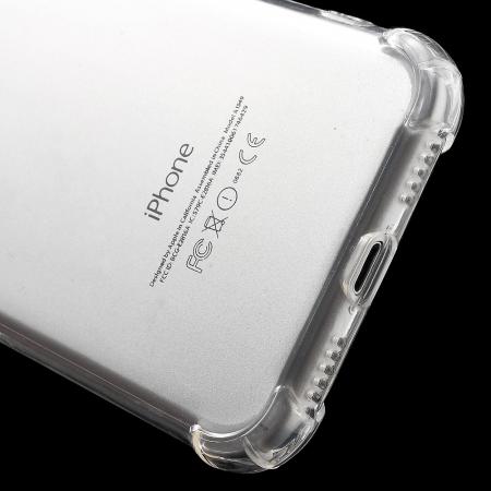 Husa silicon transparent anti shock Iphone 7/8 plus0