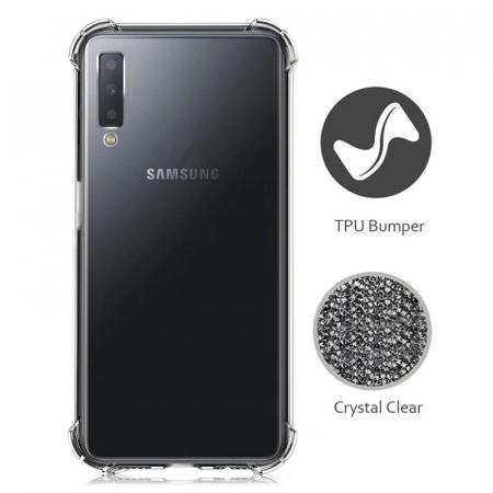 Husa silicon transparent anti shock Samsung A501