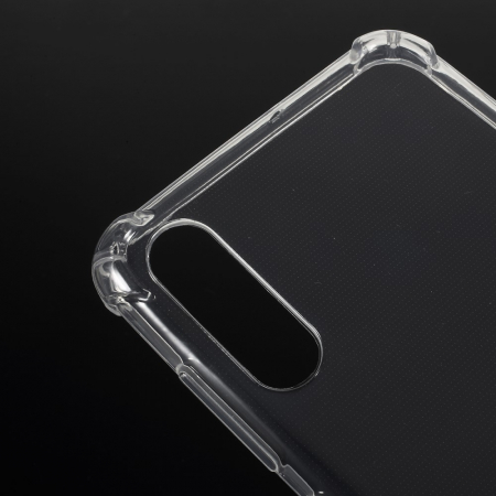 Husa silicon transparent anti shock Samsung A701