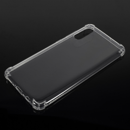 Husa silicon transparent anti shock Samsung A700
