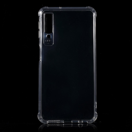 Husa silicon transparent anti shock Samsung A9 (2018)0
