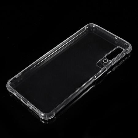Husa silicon transparent anti shock Samsung A9 (2018)1