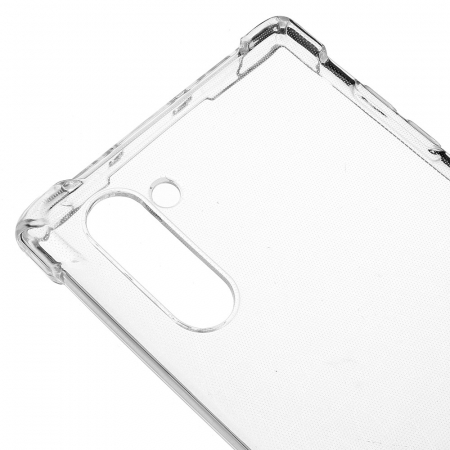 Husa silicon transparent anti shock Samsung Note 101