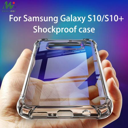 Husa silicon transparent anti shock Samsung S10 Plus0