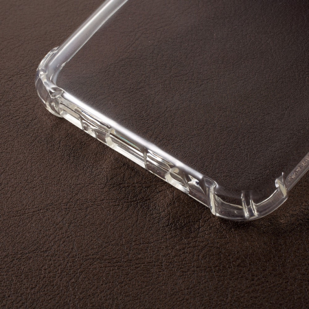 Husa silicon transparent anti shock Samsung S80