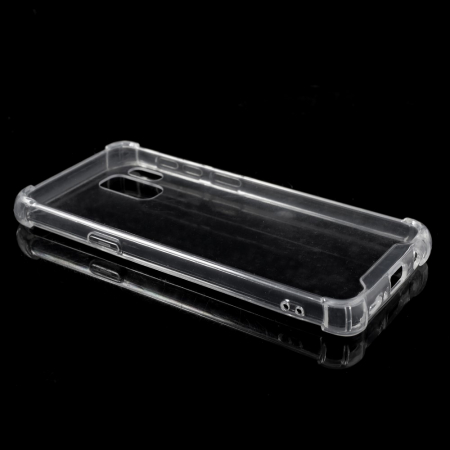 Husa silicon transparent anti shock Samsung S91