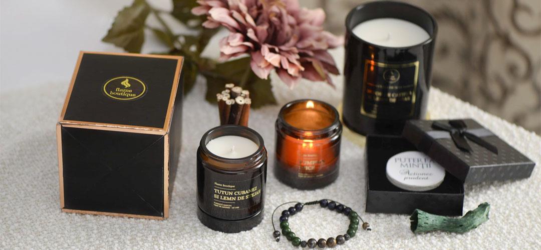 Lumanari parfumate handmade pentru un cadou deosebit