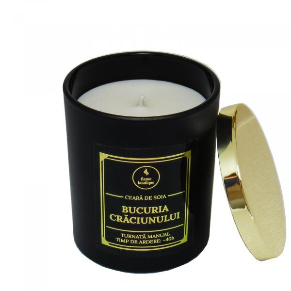 lumanare parfumata bucuria craciunului 2