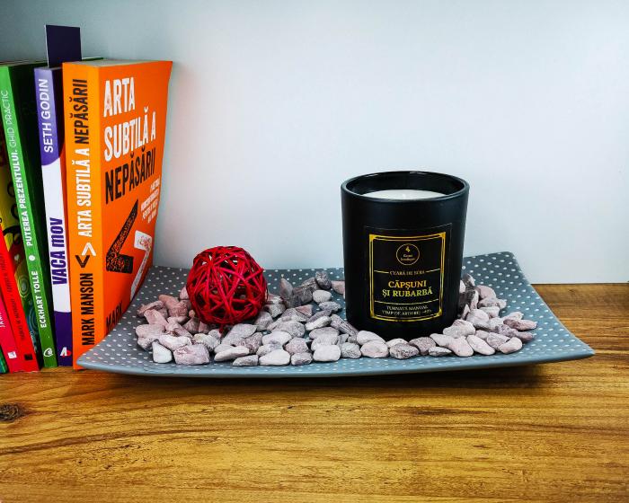 lumanare parfumata capsuni si rubarba [2]