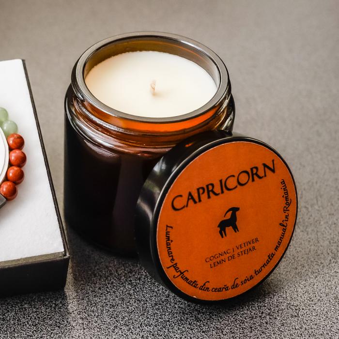 Capricorn - Lumânare Parfumată Și Brățară Semiprețioasă - Pachet Cadou Zodie [3]