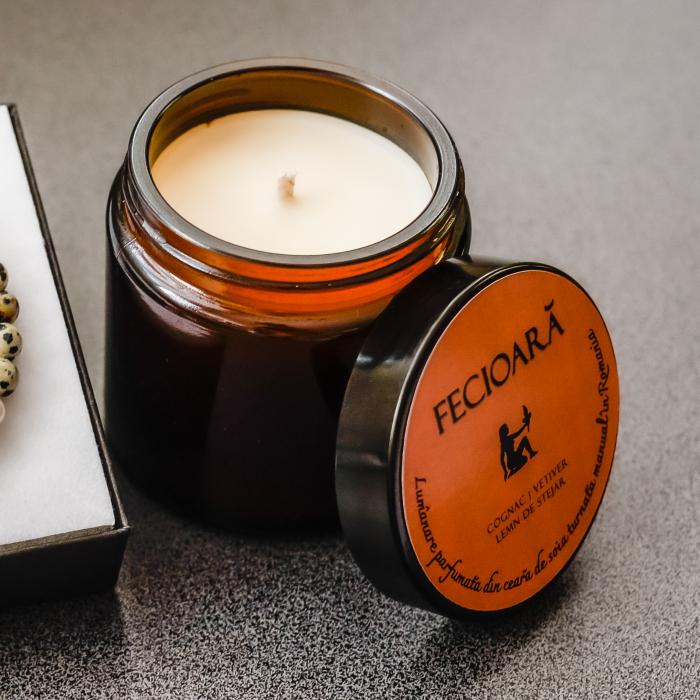 Fecioară - Lumânare Parfumată Și Brățară Semiprețioasă - Pachet Cadou Zodie [1]