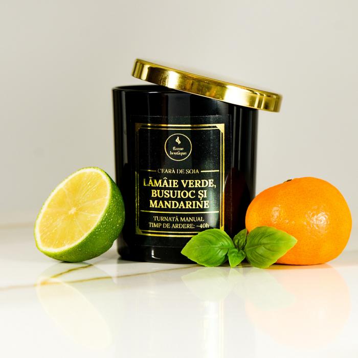 lumanare parfumata lamaie verde busuioc si mandarine [1]