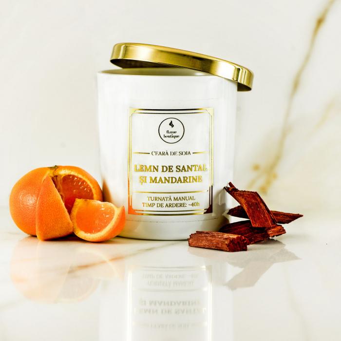 lumanare parfumata lemn de santal si mandarine [1]