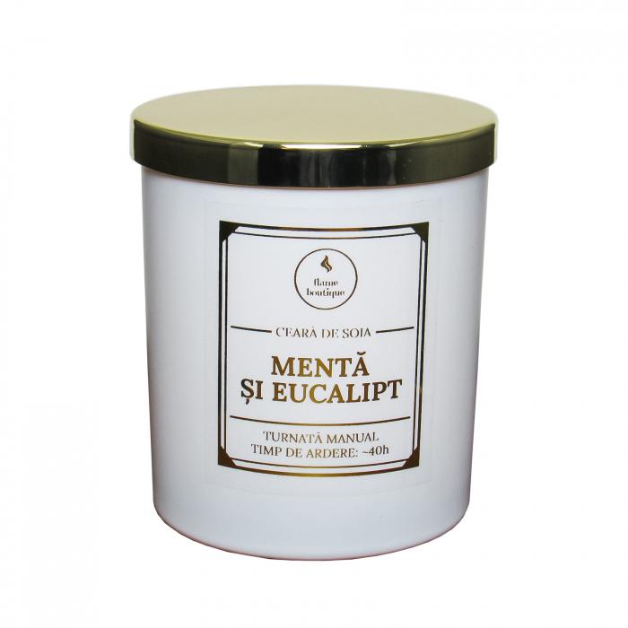 lumanare parfumata menta si eucalipt 0
