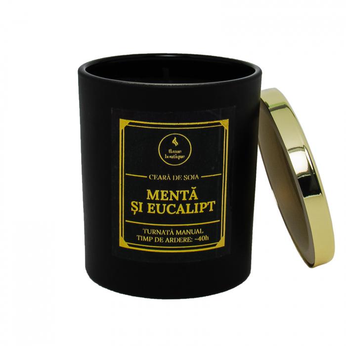 lumanare parfumata menta si eucalipt 1