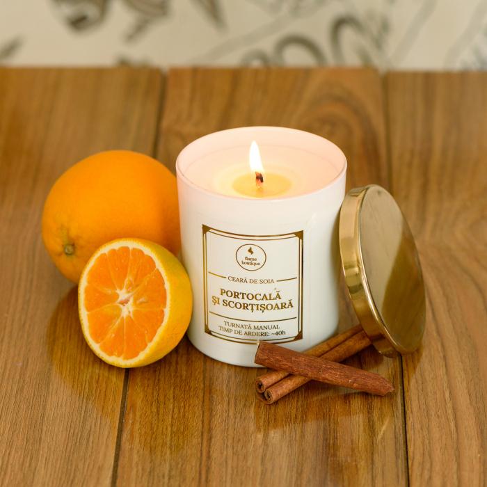 lumanare parfumata portocala si scortisoara [2]