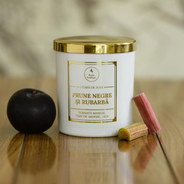 lumanare parfumata prune negre si rubarba [0]