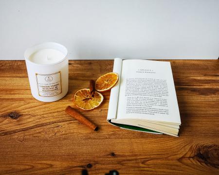 Lămâie verde, busuioc și mandarine | Alb3