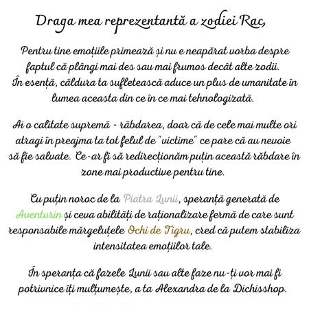 Rac - Lumânare Parfumată Și Brățară Semiprețioasă - Pachet Cadou Zodie [1]